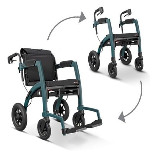 Rollz Motion Performance rollator en rolstoel met luchtbanden
