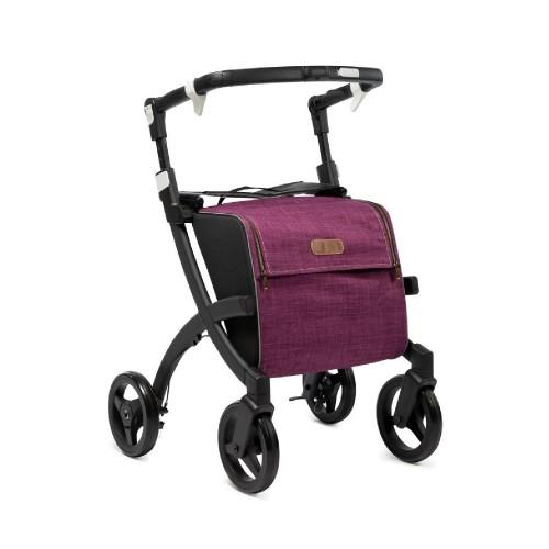 Rollz Flex fliprem, matt black frame, bright purple tas, normale maat
