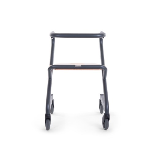 Saljol Page indoor rollator Anthracite front view