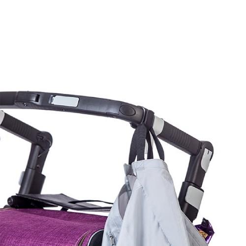 Boodschappentas bevestigd aan het Rollz Flex frame