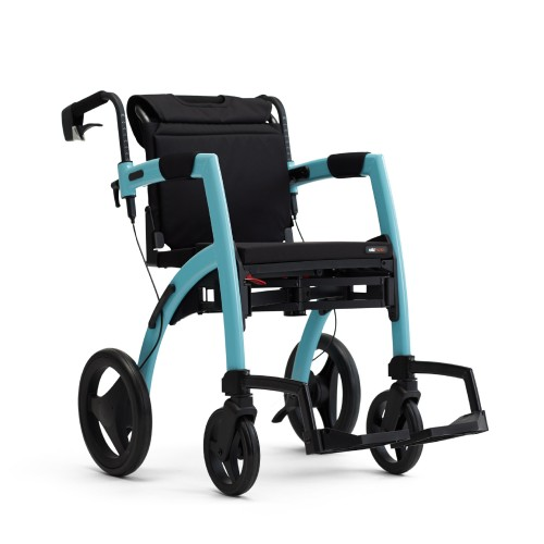 De Rollz Motion Island Blue in rolstoelpositie