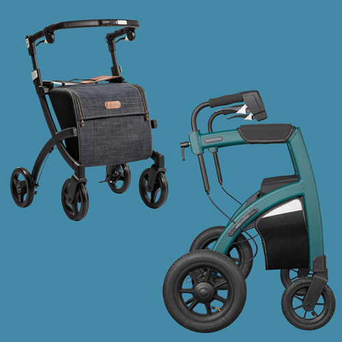 Rollz rollators are sold woldwide via distributors
