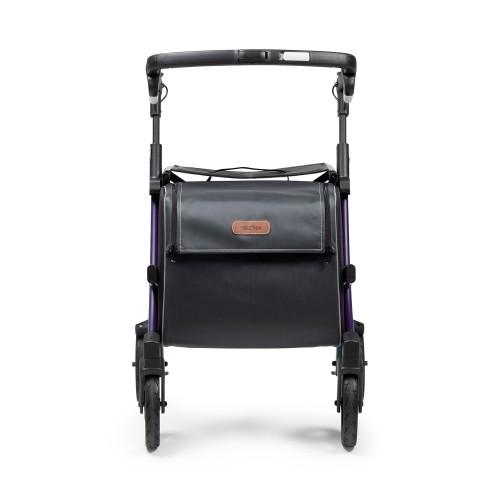 Rollz Flex 2, Dark purple, klassieke rem, normale maat, vooraanzicht