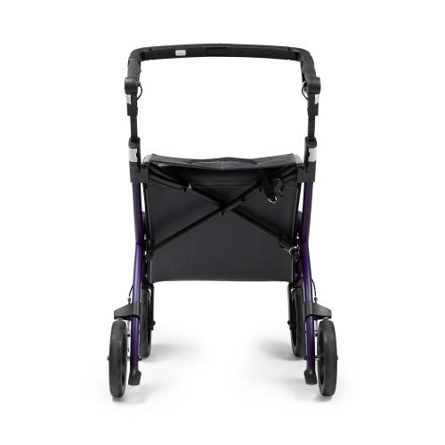 Rollz Flex 2, Dark purple, klassieke rem, normale maat, achteraanzicht