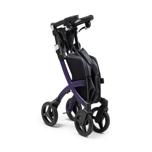 Rollz Flex 2, Dark purple, klassieke rem, normale maat, opgevouwen